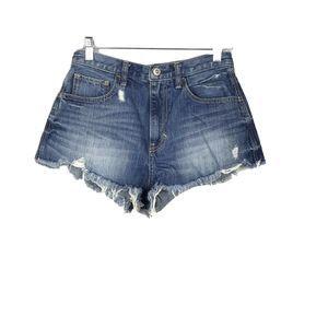 Hollister High Rise Cutoff Shorts Size 26